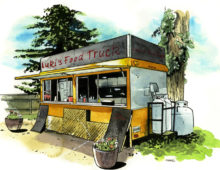 Luki's Food Truck – Inverary, ON