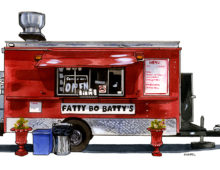 Fatty Bo Batty's, Stonecliff, ON