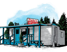 Porky's Chip Wagon, Coniston, ON