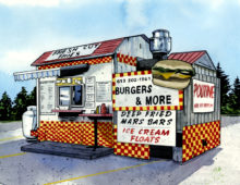 Burgers & More, Bancroft ON