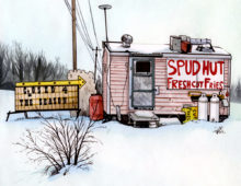 The Spud Hut, Perth ON
