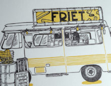 Friet Truck, Amsterdam, The Netherlands