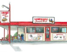 Landriault Snack Bar, Alfred ON
