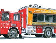 Serious Smoke Food Truck – Saint-Jean, New Brunswick