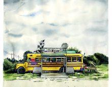 Earl Lake Motel chip stand – Mattawa, ON