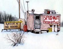 The Spud Hut, Perth ON