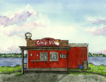 The Chip Pit, Cobden ON